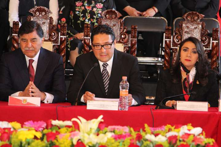 Sesiona el TSJE en el municipio de Calpulalpan