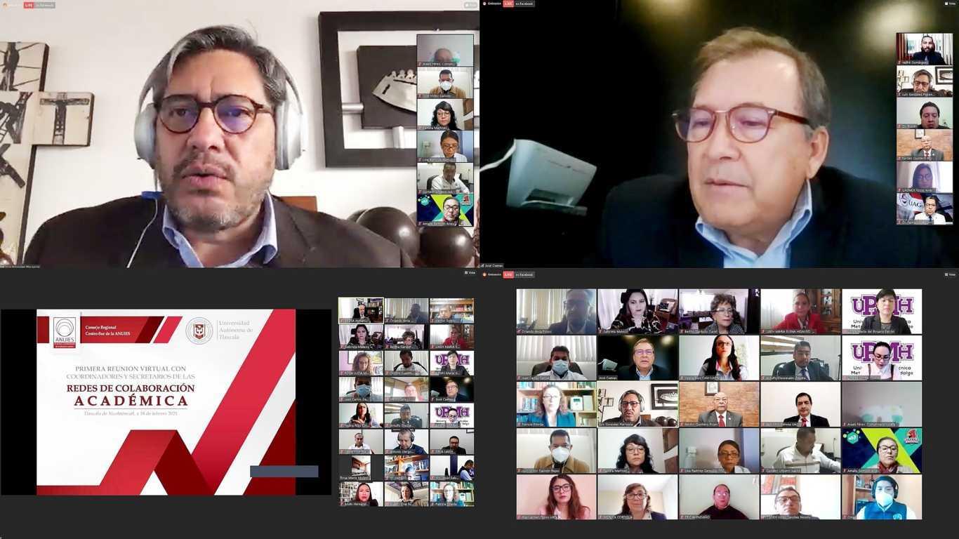 Reúne UATx a redes de colaboración académica de ANUIES