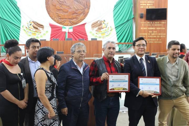 J. Carmen Corona preside evento por Centenario de la Constitución Política de Tlaxcala