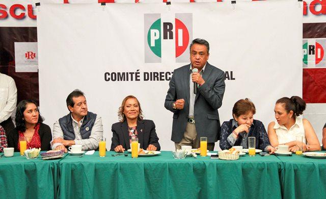 Llega a la dirigencia del ONMPRI Tlaxcala Pilar Mendieta