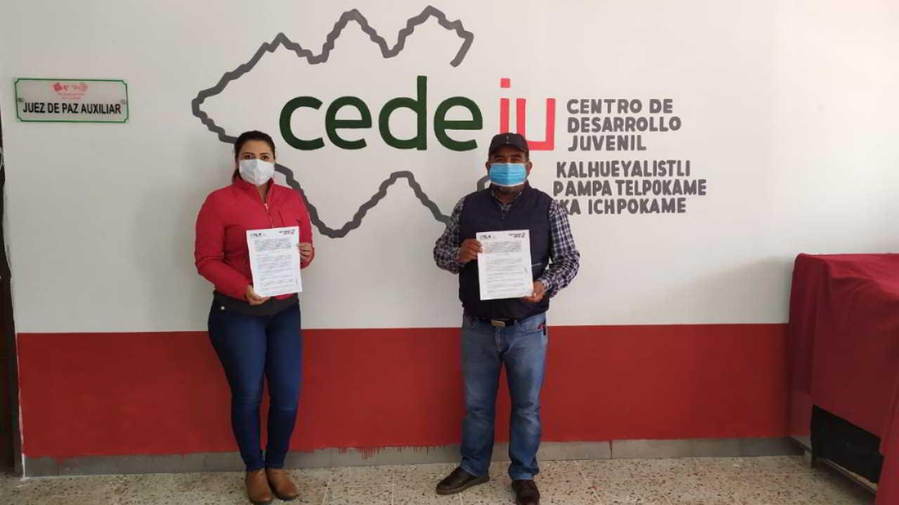 Inaugura ITJ centro de desarrollo juvenil en San Isidro Buensuceso