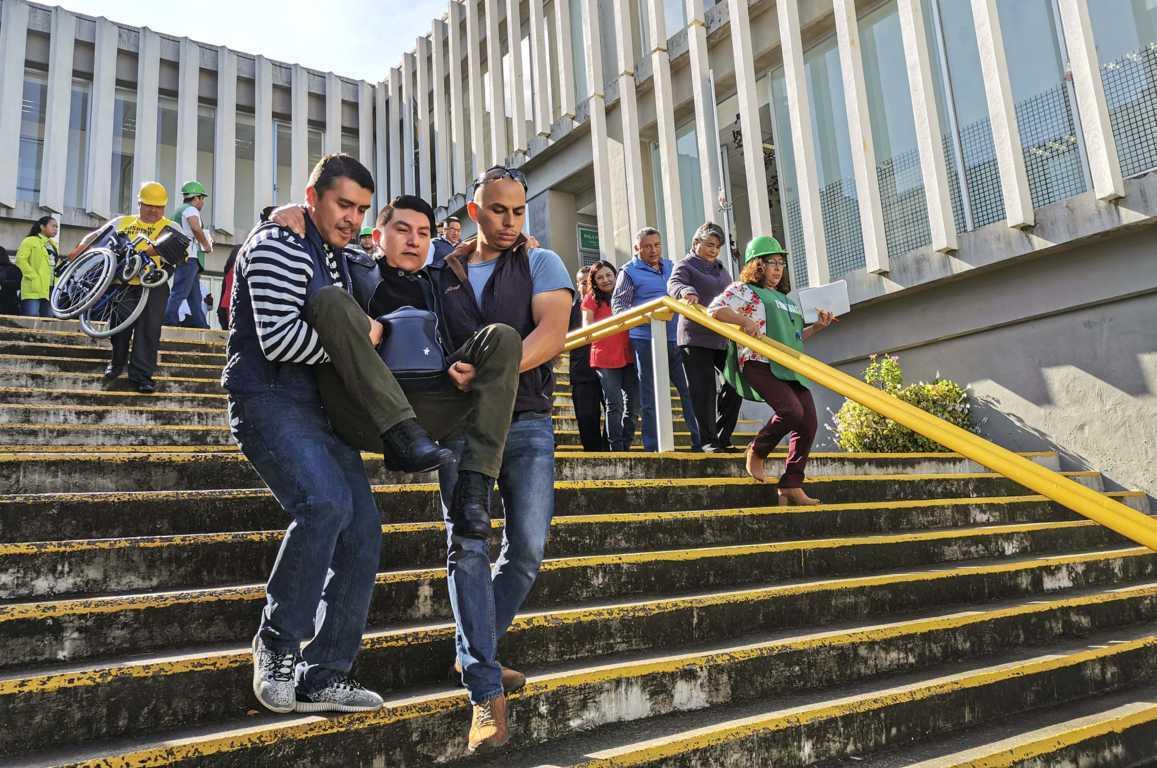 Celebran en Tlaxcala el Día Nacional de Protección Civil