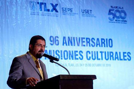 Celebran 96 Aniversario de Misiones Culturales en Tlaxcala