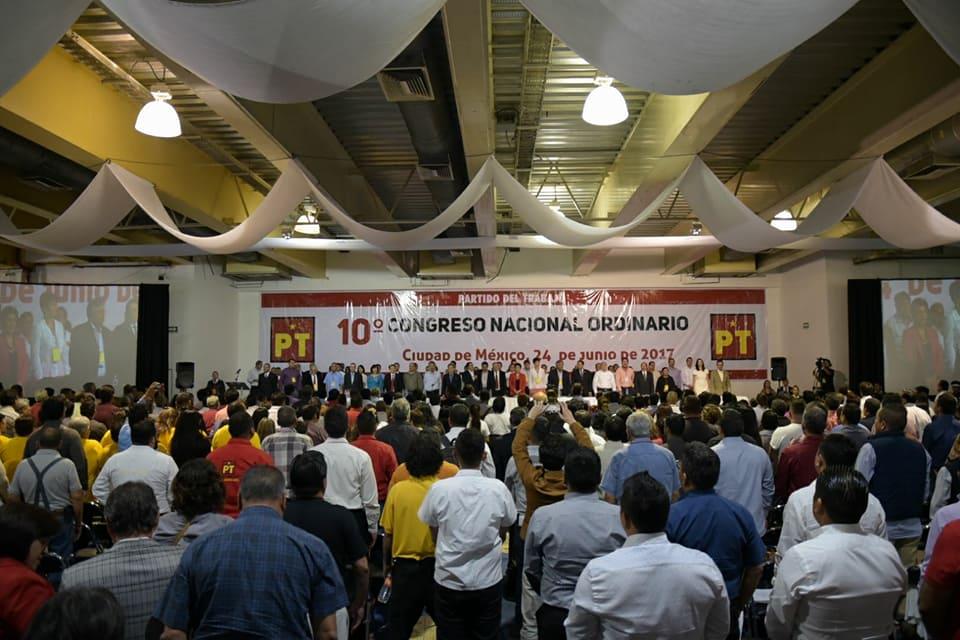 El PT decide ir en alianza con AMLO para el 2018