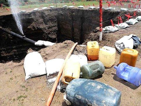 Ubica PEMEX 25 tomas clandestinas de hidrocarburo en Tlaxcala