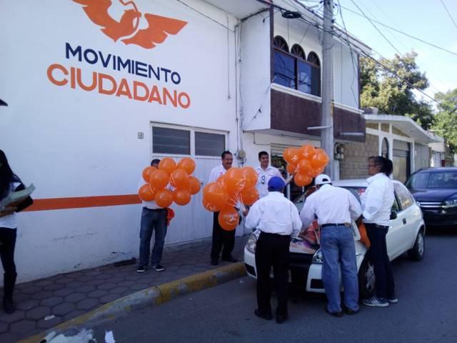 MC sin designar lista de candidatos a diputados locales