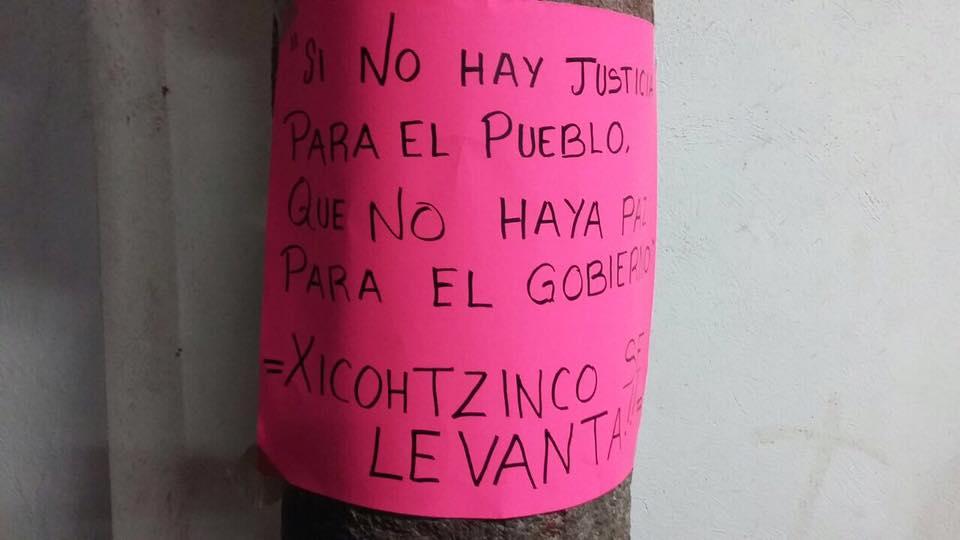 Conflicto de Xicohtzinco llega a la SEGOB