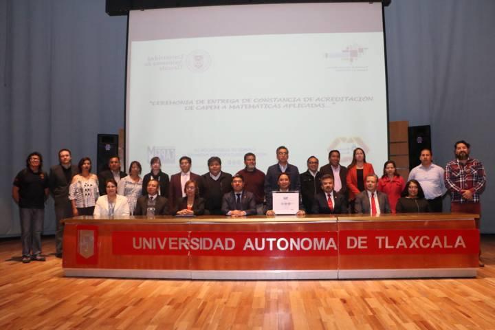Acredita la UATx su programa educativo en Matemáticas Aplicadas