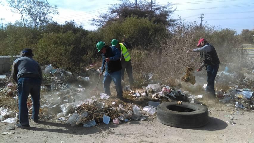 Ayuntamiento realiza la 2da faena de limpieza en el mercado Salinas de Gortari