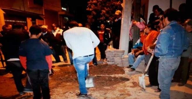 Habitantes de El Alto cancelan introducción de agua potable