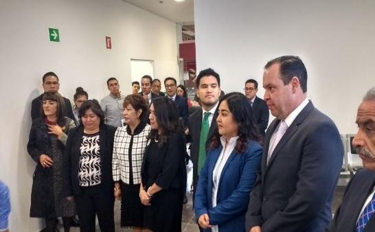 Sala de juicios orales mercantiles darán certeza en inversiones: Cordero Martínez