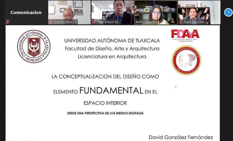 Desarrolló UATx seminario sobre la conceptualización del diseño
