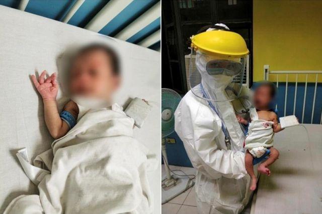 El paciente más pequeño del mundo supera el covid-19 en Filipinas