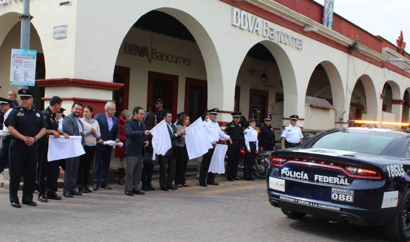 """Calpulalpan sede del arranque de la campaña """"Bájale 2 Rayitas"""""""