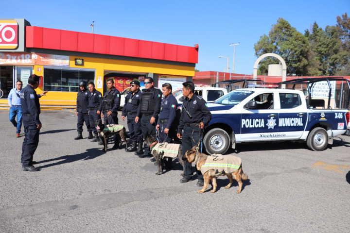 Realiza Policía Operativo Intermunicipal den Xicohtzinco