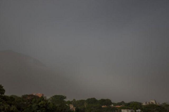 Impactante polvo Sahariano llegá al Caribe oscureciendo los cielos