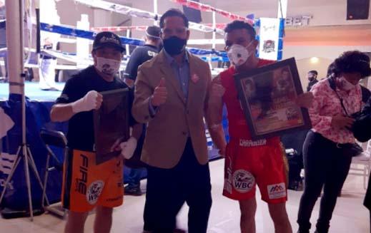 Patrocina Luis Antonio Herrera a campeones mundiales del boxeo
