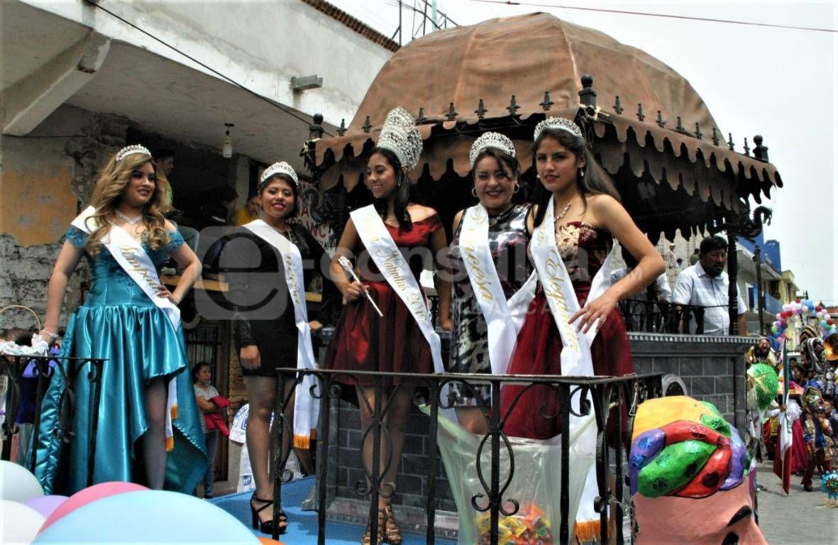 Arranco la Feria Regional Nativitas 2019 con un colorido desfile