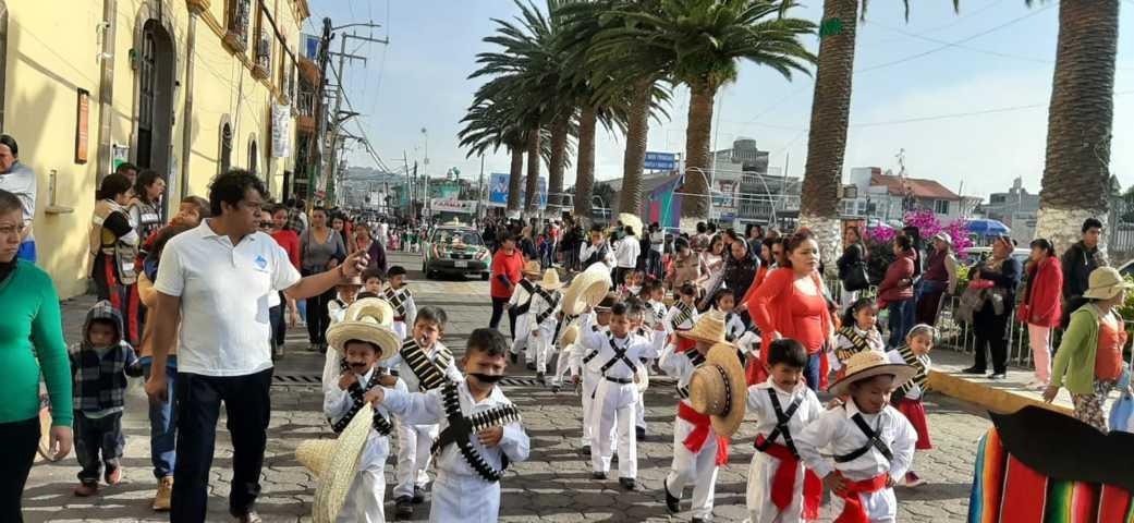 Alcalde encabeza conmemoración del CIX aniversario de la Revolución Mexicana