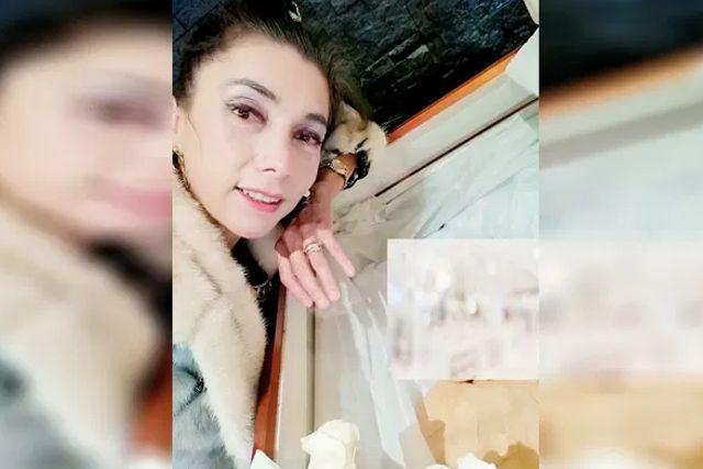 Critican a Viuda de José Ángel García por tomarse selfie junto a su cuerpo