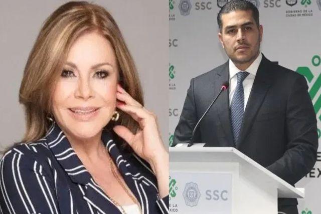 Reaparece María Sorté y habla sobre el atentado a su hijo Omar García Harfuch
