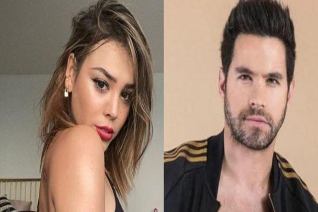 """Conductora revela que Danna Paola se maquillaba los moretones que  le daba Eleazar """"N"""""""