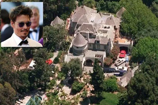 Arrestan a un intruso que se bañaba en la mansión de Johnny Depp