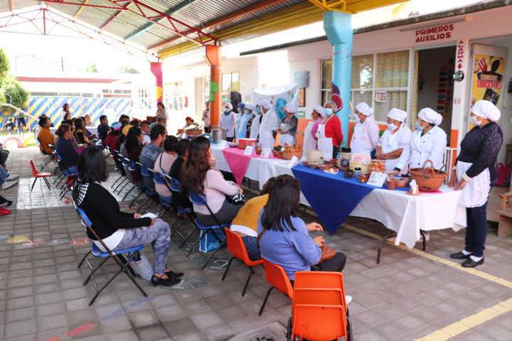Celebra Xicohtzinco Día Mundial de la Alimentación con muestra Gastronómica