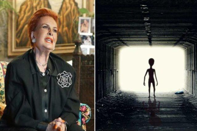 Asegura Talina Fernández que extraterrestres le operaron su rodilla