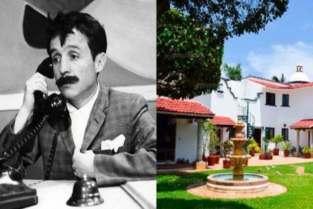 Ponen en venta lujosa mansión de Chespirito donde falleció