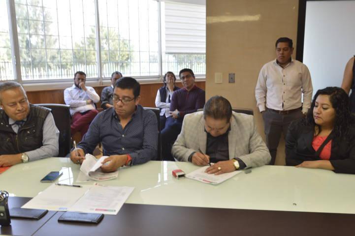 Ayuntamiento y la UPT signan convenio en materia de seguridad
