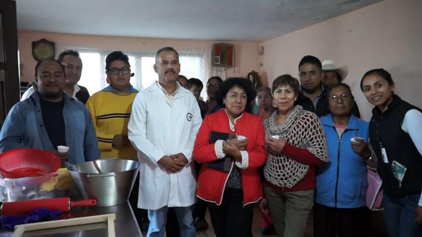 Con el taller de amaranto mejoramos la economía de las familias: alcalde