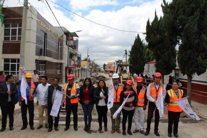 Mejoramos la infraestructura básica de 4 barrios con magna obra