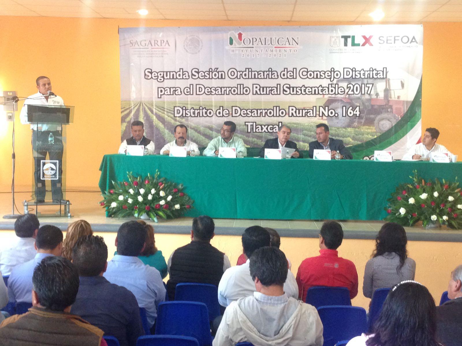 Nopalucan sede de la 2da sesión para el Desarrollo Rural Sustentable