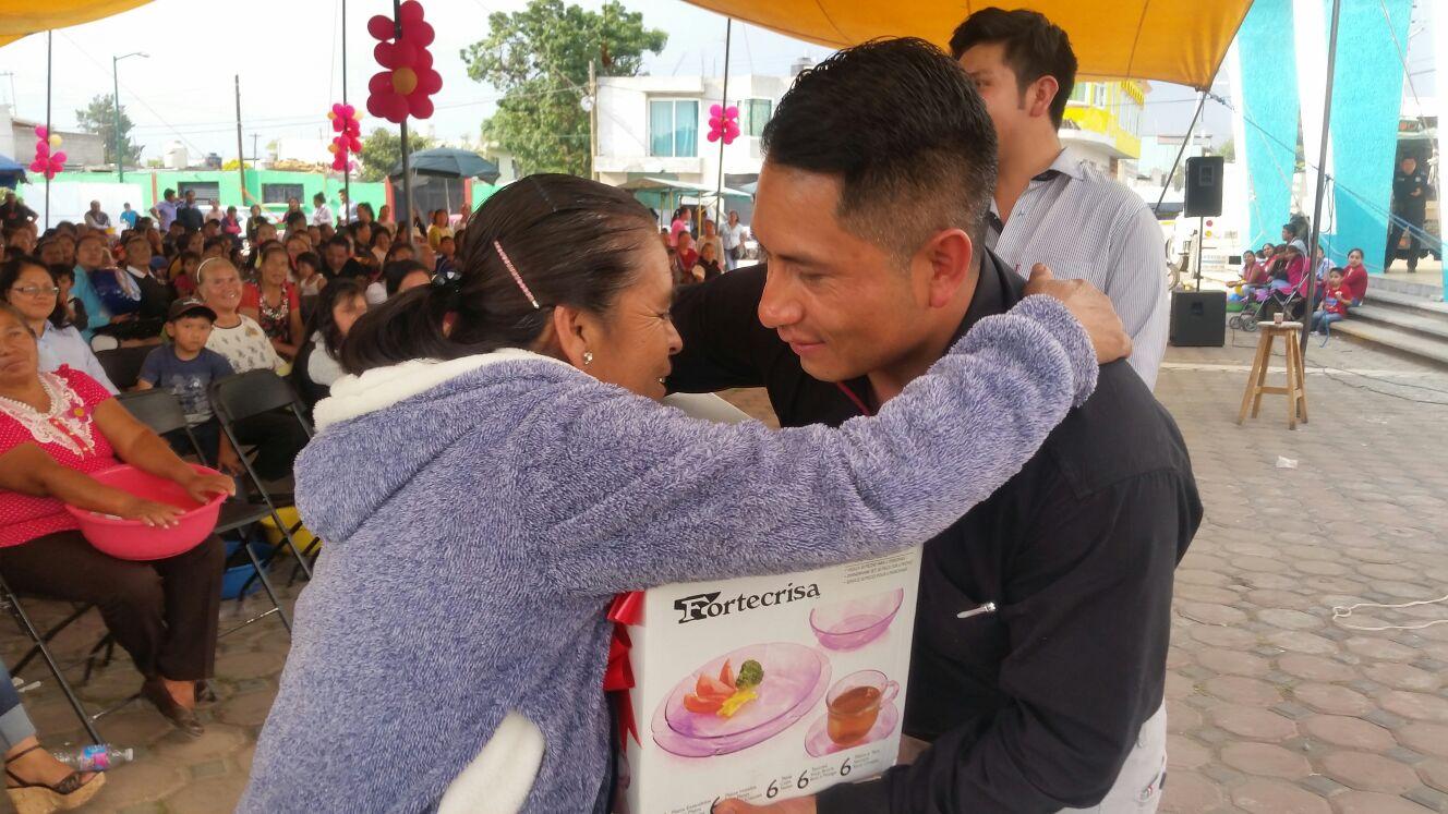 Ayuntamiento y DIF Municipal festejaron a las Madres de Quilehtla