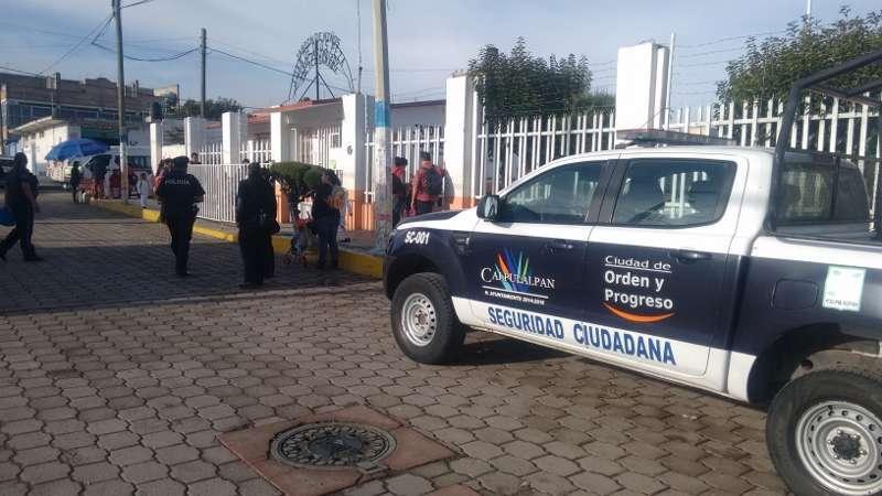 Realiza PM Calpulalpan intensa campaña de proximidad ciudadana