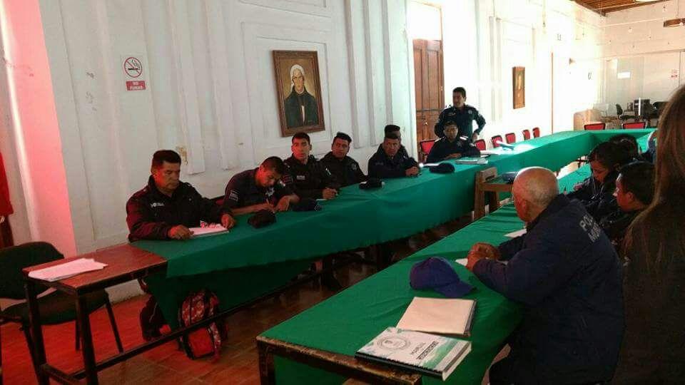 Policías municipales se profesionaliza en el nuevo Sistema Penal Acusatorio NSPA