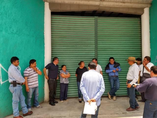 Alcalde realizara dos obras con aportación de los vecinos beneficiario