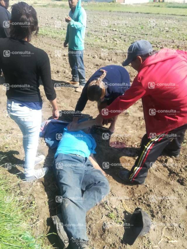 Trabajador mata a su patrón con un azadón en terrenos de labor en Teacalco
