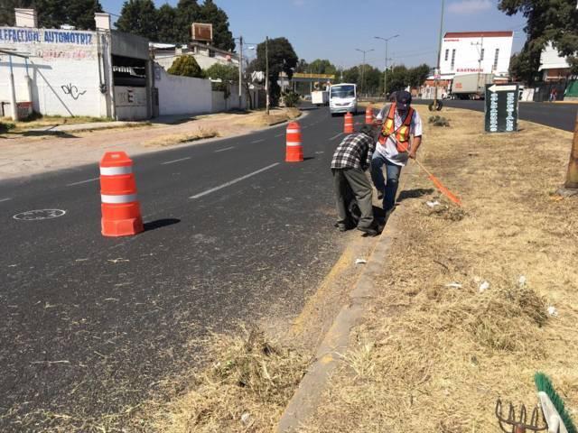 Con faenas de limpieza mejoramos la imagen urbana del municipio: JDCA