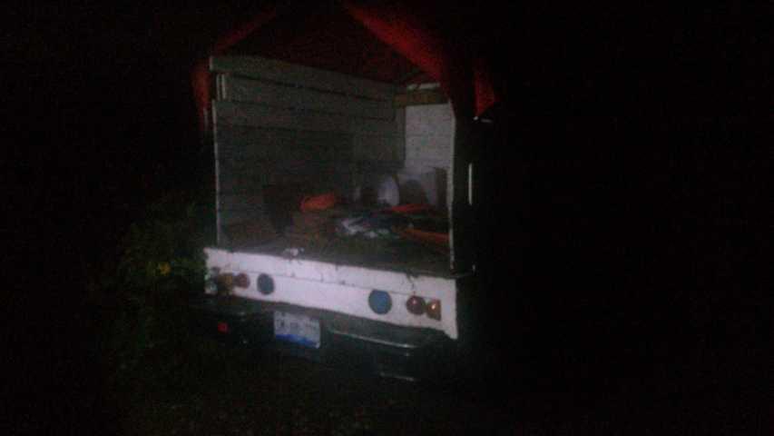 Localiza policía de Xicohtzinco camioneta con reporte de robo