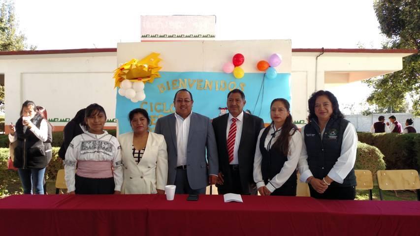 Juárez Cajica acude al arranque del ciclo escolar 2017-2018