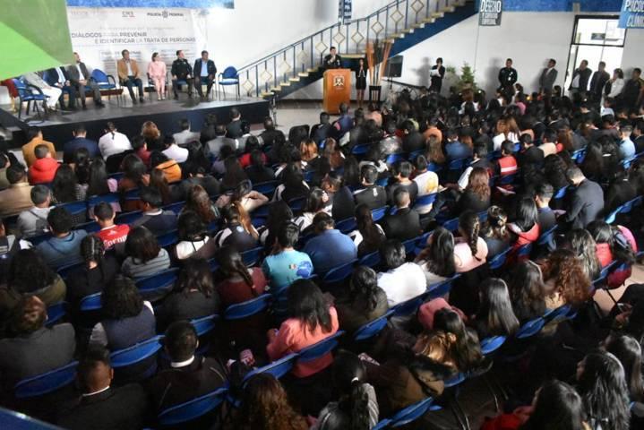 Policía federal acerca 1er conversatorio por tu Seguridad en Tlaxcala