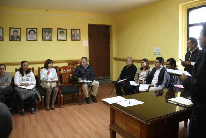 Ayuntamiento coordina trabajos con instituciones educativas del municipio