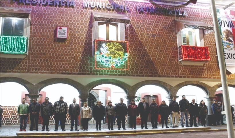 Alcalde encabeza fijación de Bando Solemne y ceremonia cívica de la Gesta Heroica
