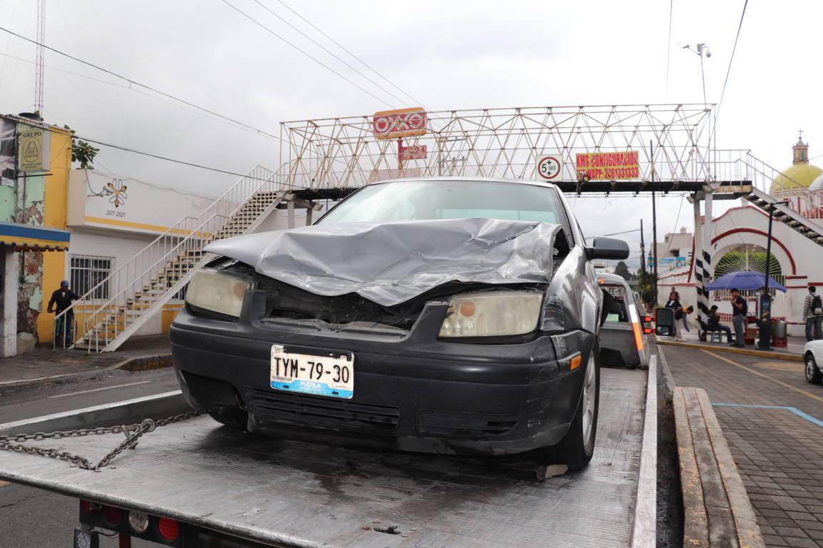 Policía de Xicohtzinco pone a disposición vehículo que era utilizado para realizar actos ilícitos