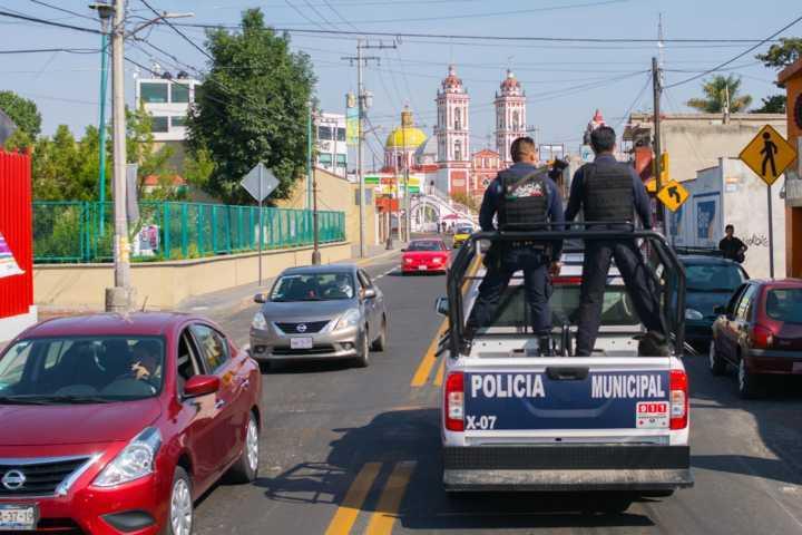 Continúan operativos de vigilancia en Xicohtzinco