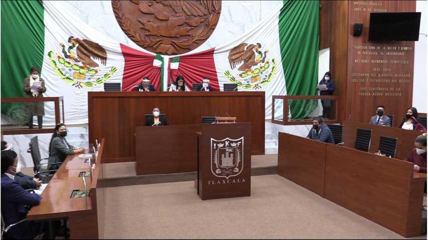 Inicia el tercer año de la LXIII Legislatura de Tlaxcala