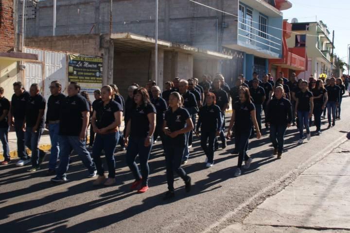 Vázquez Morales encabezo el 107 aniversario de la Revolución Mexicana