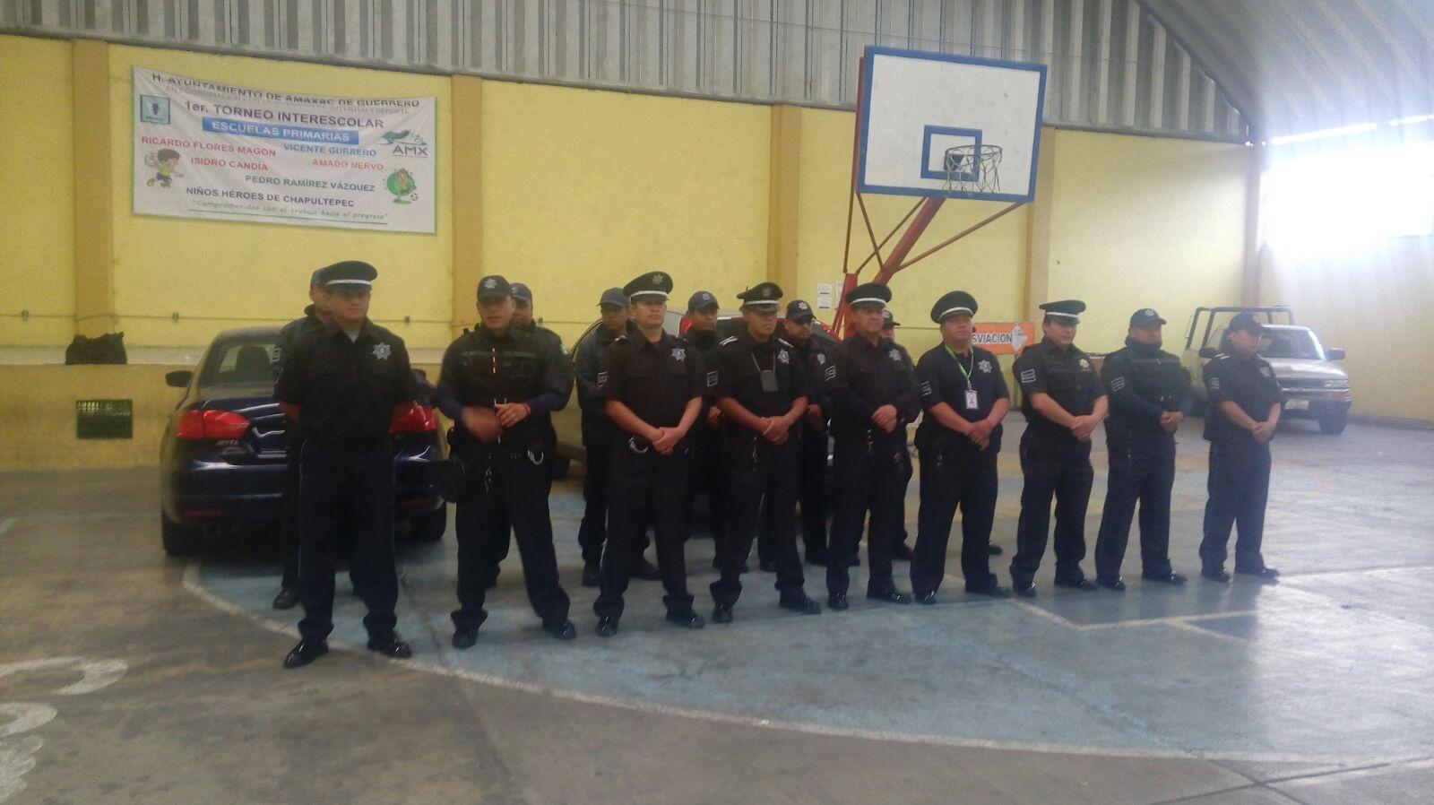 Carin Molina reconoce el trabajo del cuerpo de policiaco